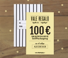 Vale regalo SelfPackaging 100 €
